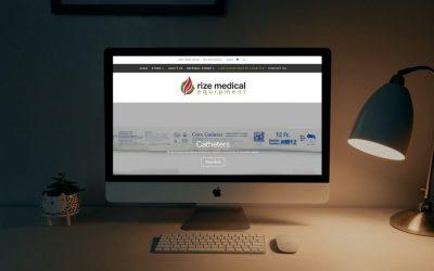 Rize Medical: New Website