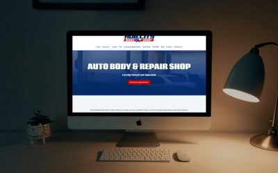 Hub City Body Shop: New Website